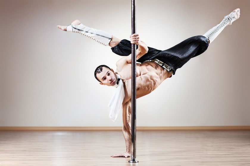 different type of dance - pole dancing